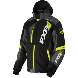 Куртка мужская FXR Mission FX-4 Black/Charcoal/Hi-Vis L