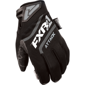 Перчатки муж. FXR Attack Insulated Black M