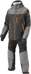 Комбинезон муж лег FXR Elev Dry-link 2 pc, Char/Grey/Orange S