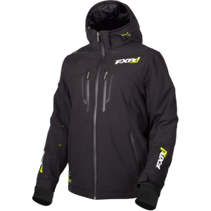 Куртка муж. Vertical Pro Softshell Black/HiVis M